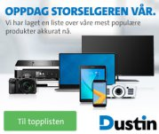 Dustin.no - ledende e-handelsportal i Norden for IT-produkter
